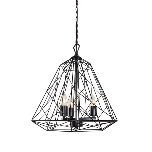 Varaluz Wright Stuff Black Three Light Pendant