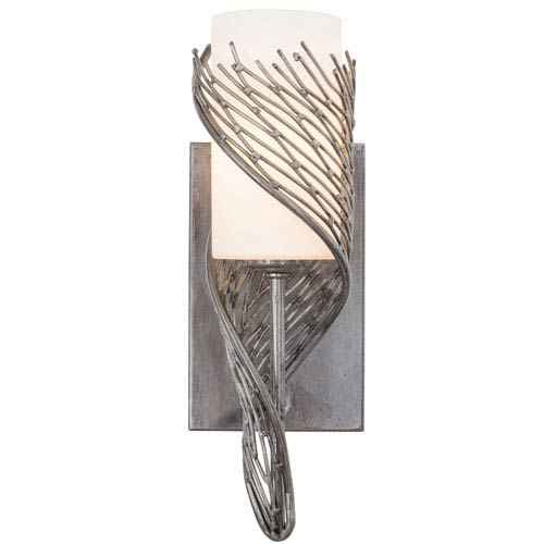 Flow Steel One Light Wall Sconce