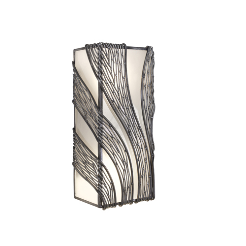 Varaluz Flow Steel Two Light Wall Sconce
