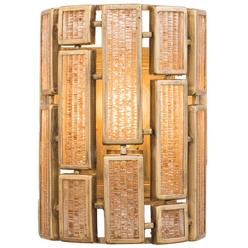 Harlowe Havana Gold One-Light Wall Sconce