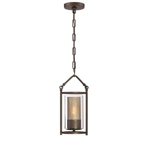 Jackson Rustic Bronze One-Light Mini Pendant
