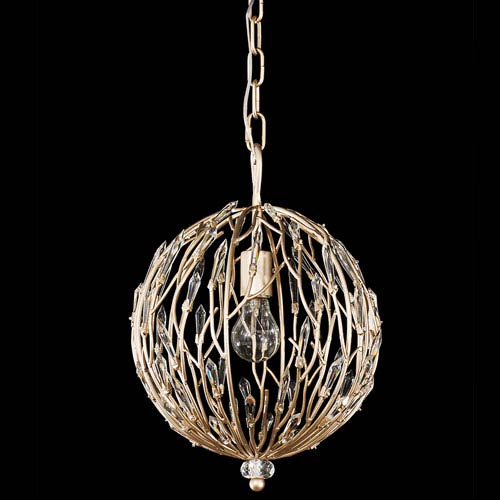 Bask Gold Dust One Light Pendant