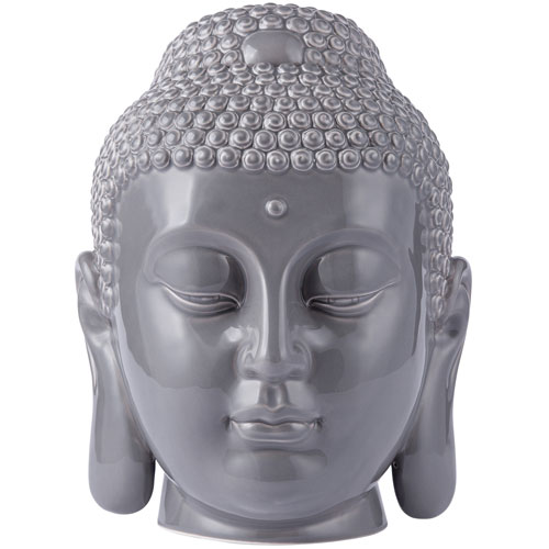 Casa Gray Buddha Cookie Jar