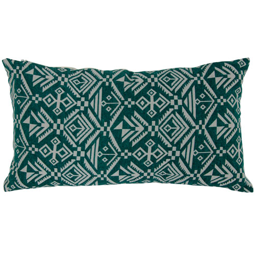 Varaluz Casa Green 10-Inch Tribal Lumbar Throw Pillow