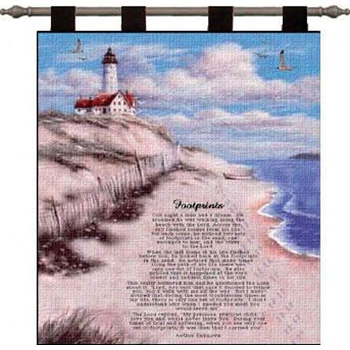 Footprints Wall Tapestry