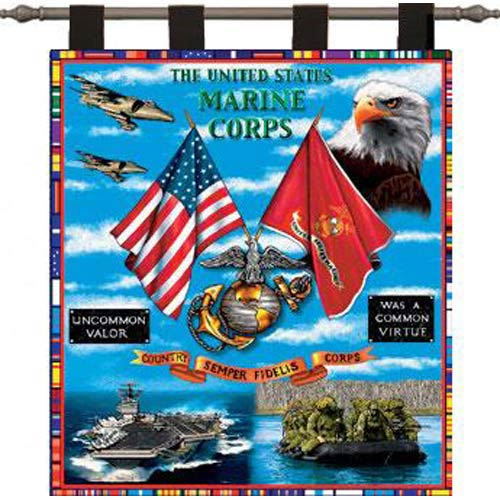 Pure Country Weavers Land Sea Air Wall Tapestry
