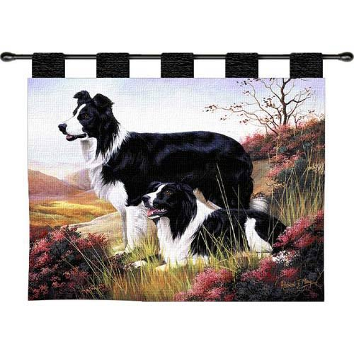Pure Country Weavers Border Collie Wall Tapestry