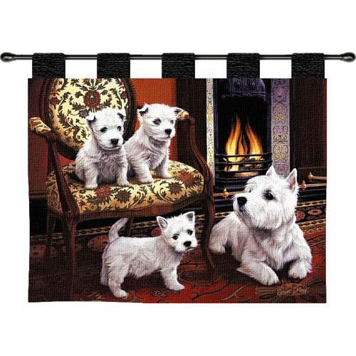 Pure Country Weavers West Highland White Terrier Wall Tapestry