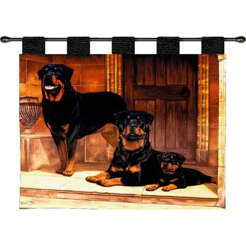 Pure Country Weavers Rottweiler Wall Tapestry