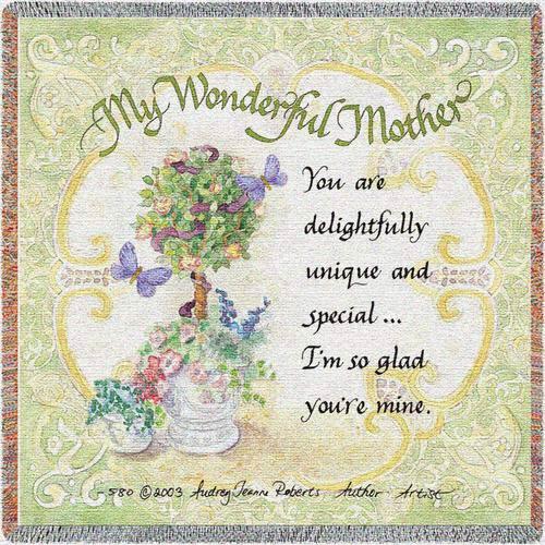 My Wonderful Mother Lap Square