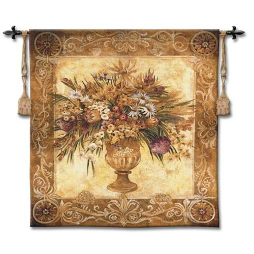 Tuscan Urn Woven Wall Tapestry