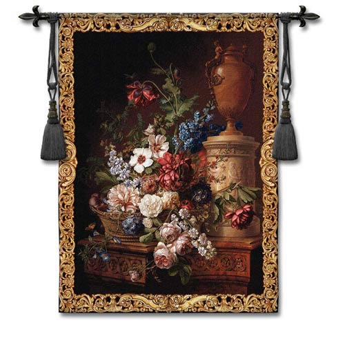 Fleur Du Siecle Woven Wall Tapestry