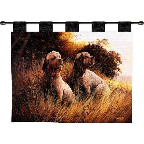 Clumber Spaniel Tapestry Wall Hanging
