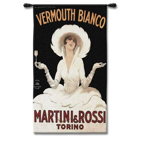 M and R Torino Woven Wall Tapestry