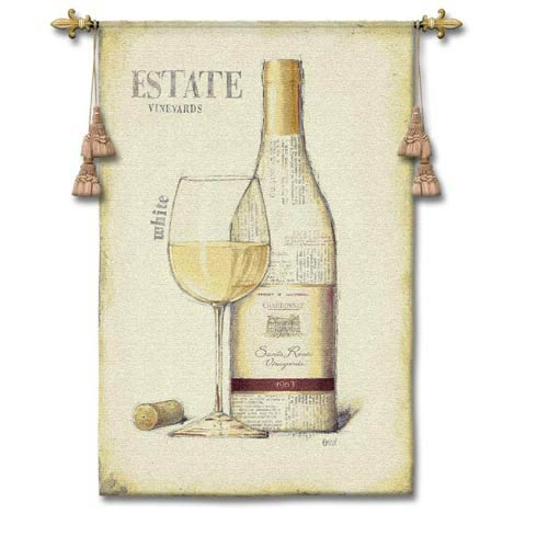 Estate Vineyards Woven Wall Tapestry
