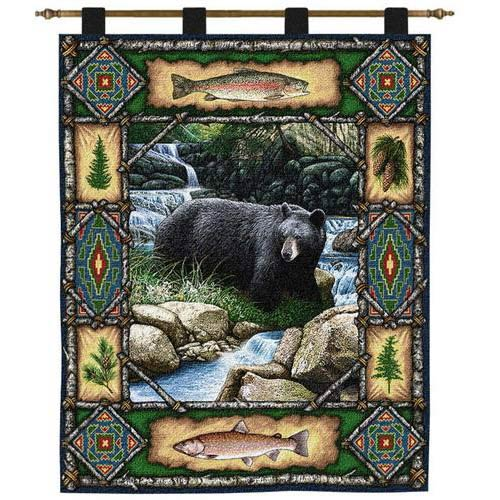 Bear Lodge Wall Tapestry
