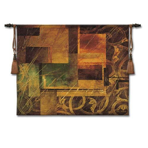 Visual Pattern I Woven Wall Tapestry