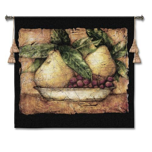 Pompeian Pears Woven Wall Tapestry
