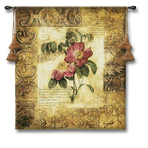 Blossom Elegance III Woven Wall Tapestry