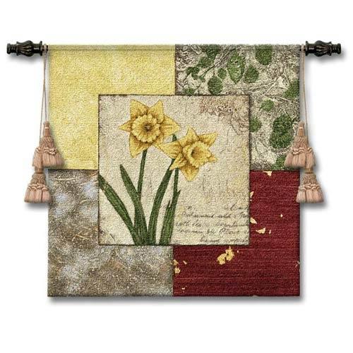 Seasons III Woven Wall Tapestry