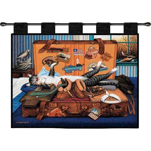 Pure Country Weavers Mabel The Stowaway Wall Tapestry