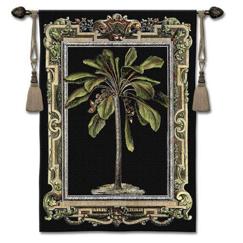 Masterpiece Palm I Woven Wall Tapestry