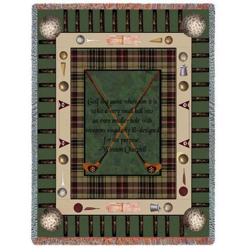 Pure Country Weavers Churchill Golf Throw
