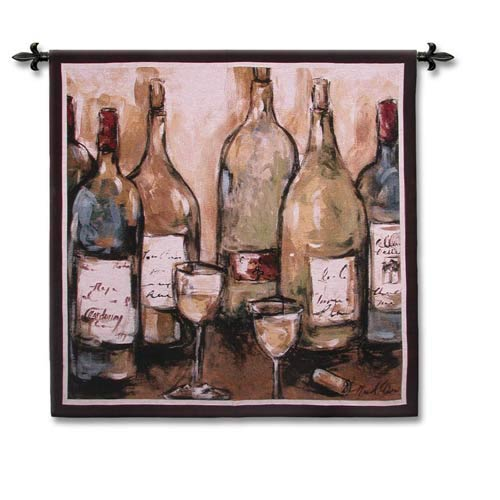 Wine Bar Woven Wall Tapestry