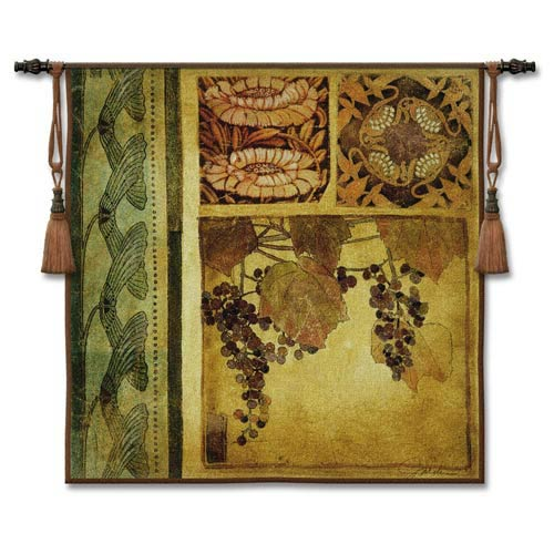 Arts & Crafts I Woven Wall Tapestry