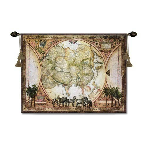 Tropic Capricorn Woven Wall Tapestry