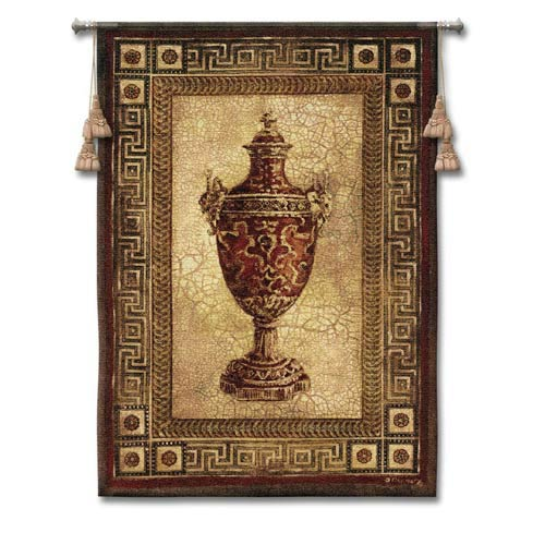 Vessel Antiquity I Woven Wall Tapestry
