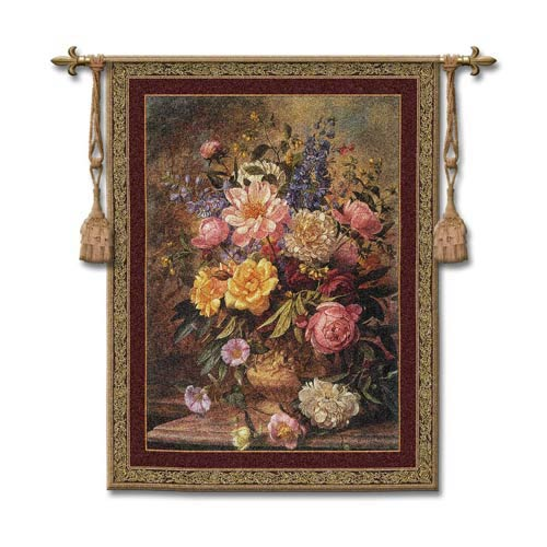 Natures Glory III Woven Wall Tapestry