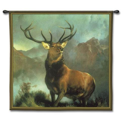 Monarch of the Glen Tapestry Wall Hanging
