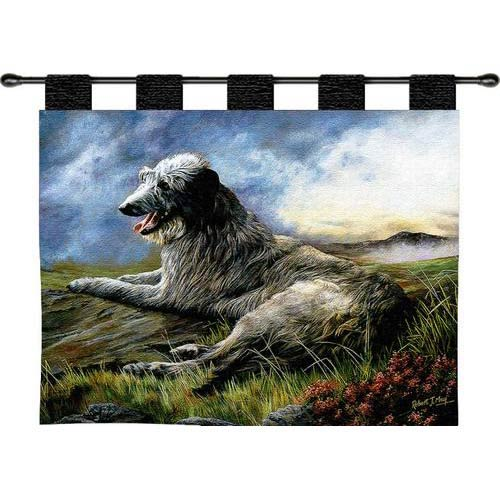 Pure Country Weavers Scottish Deerhound Wall Tapestry