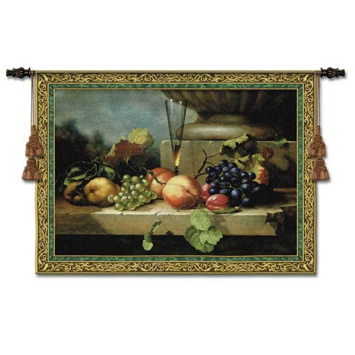 Grapes Of Venice Small Woven Wall Tapestry