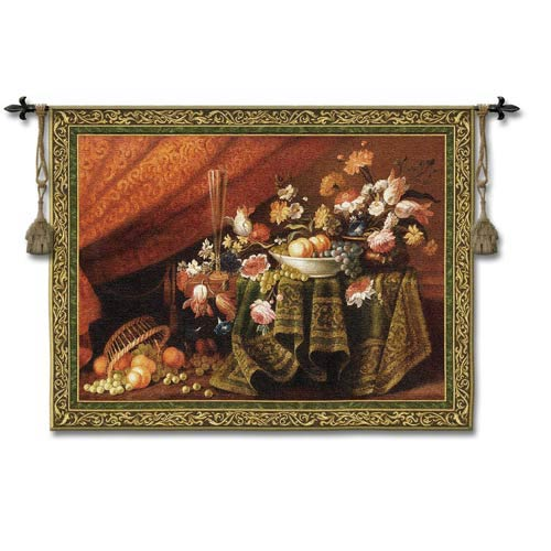 Fruits Of Labor Small Woven Wall Tapestry