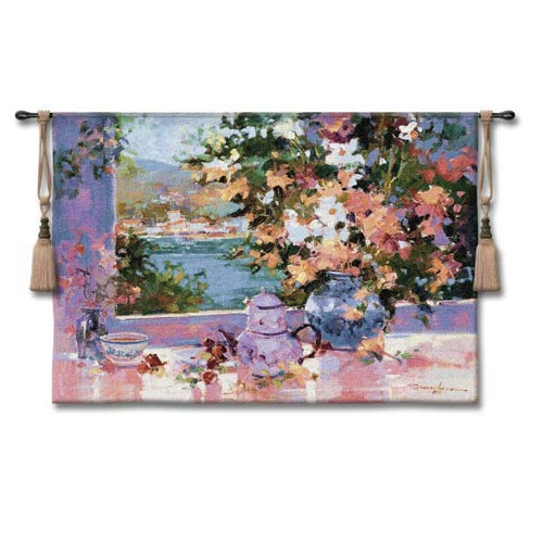 Window View Woven Wall Tapestry