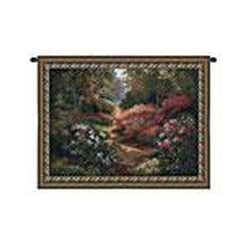 Along the Garden Path Tapestry Wall Hanging