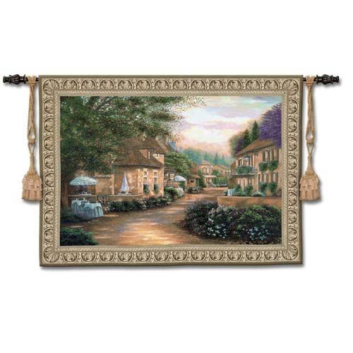 Plentitude De Charme Large Woven Wall Tapestry