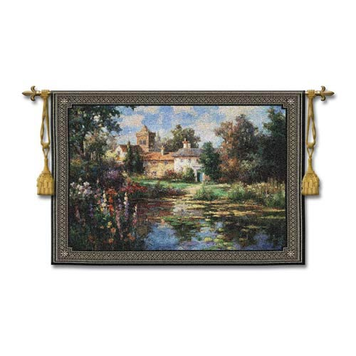 Summer Escape Woven Wall Tapestry