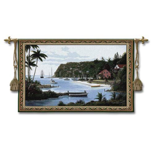 Island Paradise Woven Wall Tapestry