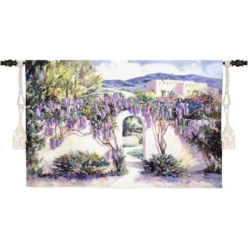 Wistful Wisteria Tapestry Wall Hanging
