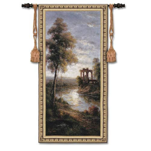 Ancient Ruins I Woven Wall Tapestry