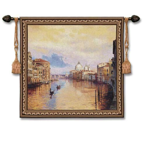 Grand Canal Woven Wall Tapestry