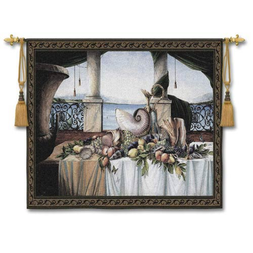 Promessa Destate Small Woven Wall Tapestry