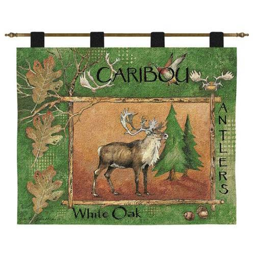 Pure Country Weavers Caribou Wall Tapestry