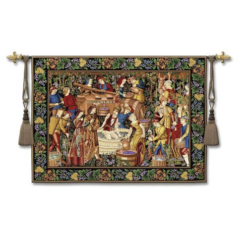 Vendages Woven Wall Tapestry