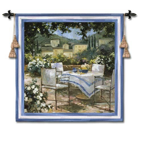 Tuscany Terrace Woven Wall Tapestry