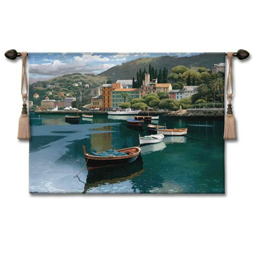 Before The Rain Woven Wall Tapestry