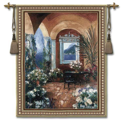 Veranda The Large Woven Wall Tapestry